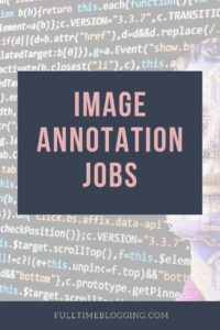 Image Annotation Jobs