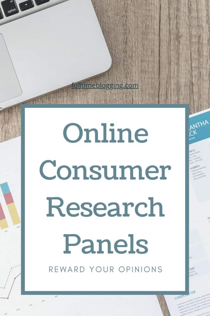 Online Consumer Research Panels