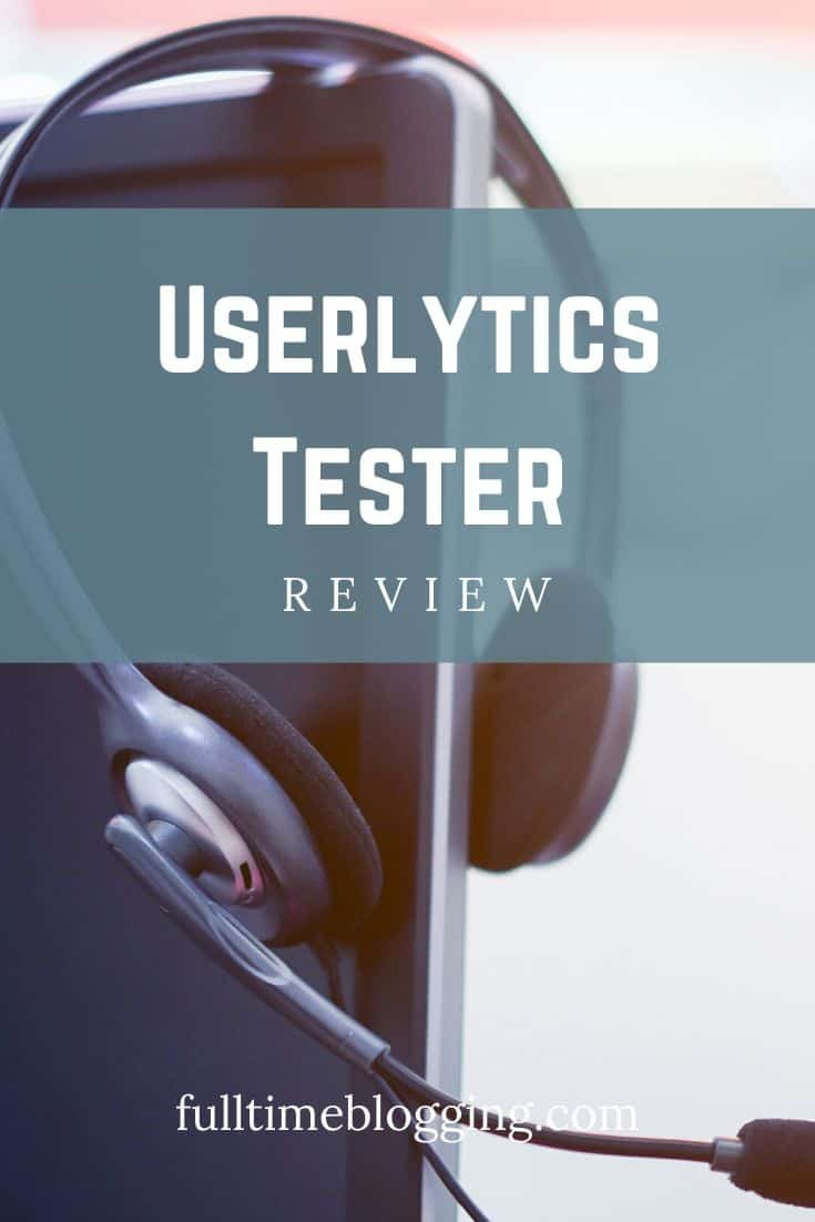 Userlytics Tester Review
