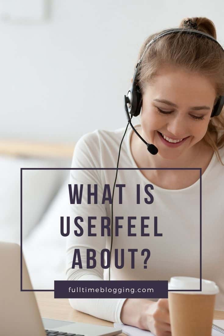 what is userfeel about