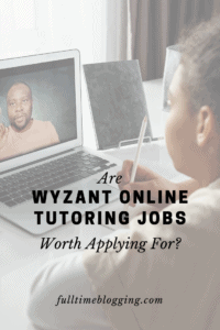 Wyzant Online Tutoring Jobs