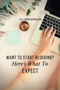 Want To Start Blogging
