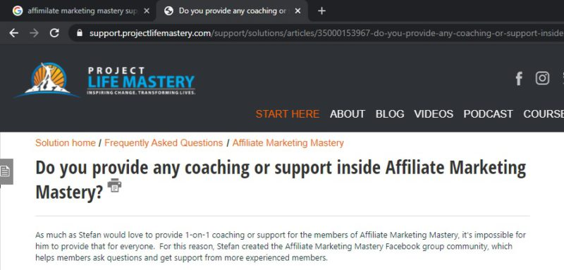 affiliate marketing mastery with