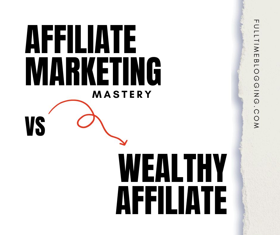 the affiliate marketing mastery or