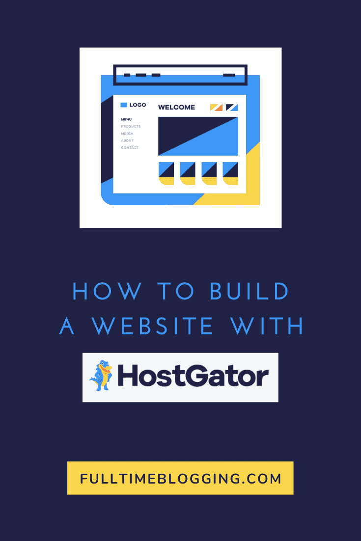 How To Build A Website With Hostgator