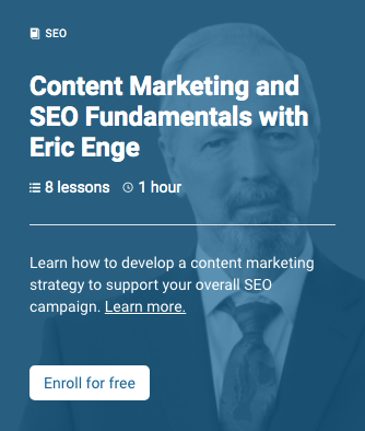 Content Marketing and SEO Fundamentals