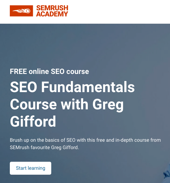 seo fundamental course