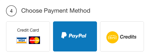 choose a payment method for domain
