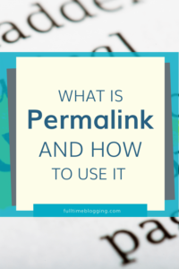 WordPress Permalink Tutorial