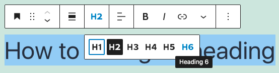 how to change the settings in block editor