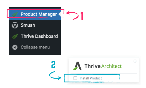 how to install thrive architect