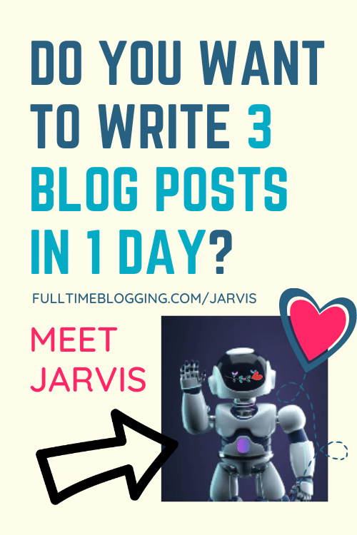 write 3 blog posts in 1 day