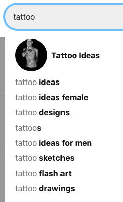 how to search in Pinterest